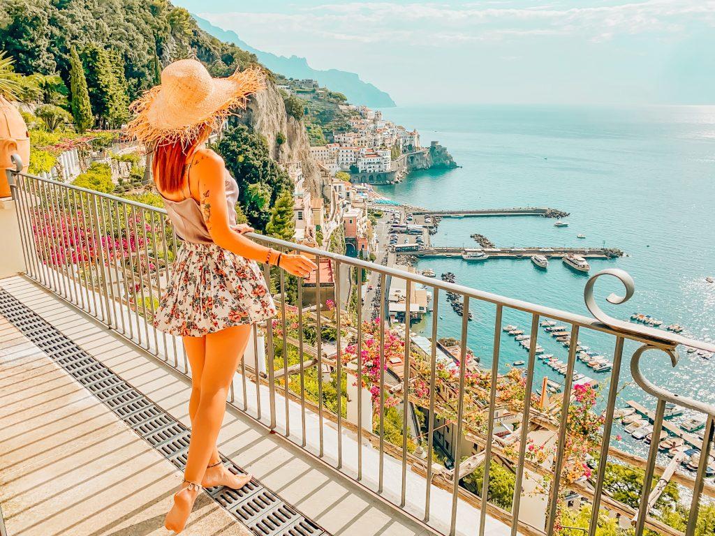 Amalfi : un antico borgo marinaro tra roccia e mare